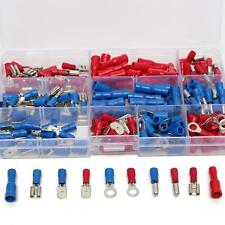 200PCS ASSORTED INSULATED ELECTRICAL WIRE TERMINALS CRIMP CONNECTORS SPADE KIT