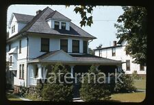 1940s kodachrome photo slide House exterior Dutch Boy Paint collection #1