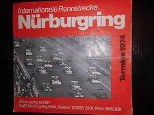 Circuitos de carreras internacional citas nurburgring 1974 manifestaciones bucle del Norte