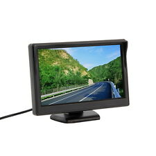 "New 5"" 800*480 (no 320*240) Car TFT LCD Monitor Screen 2ch Video OE"