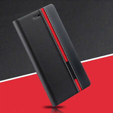Luxury Flip Cover Stand Wallet PU Leather Case For Sony Xperia Mobiles