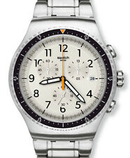 "SWATCH IRONY CHRONO the ""minimalis-TIC"" (yos453g) merce nuova, OVP"