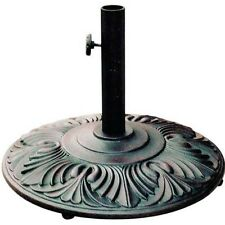 Umbrella Base Cast Iron Amazon  Bronze, Aluminum patio outdoor furniture