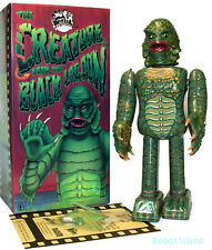 Creature from Black Lagoon Robot Tin Toy Japan Metal House Universal Monsters