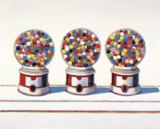 Three Machines 1963 Wayne Thiebaud Gum Gumball Candy Kid Children Print Poster