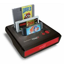 Retro-Bit Super Retro Trio 3-in-1 Console ✔ Red/Black ✔ NES/SNES/MegaDrive PAL ✔