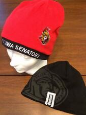 OTTAWA SENATORS LICENSED RED REVERSIBLE TOQUE NEW W/ TAGS  Free SHIP IN CANADA