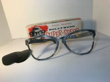 Hollywood Super Specs Joke Glasses In OB Plastic Vintage 1960s Party