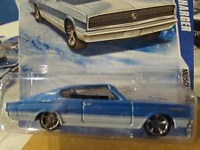 Hot Wheels Muscle Mania 67 Dodge Charger Blue/white Snowflake card