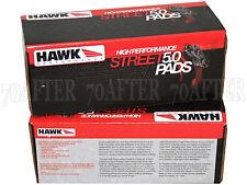 Hawk Street 5.0 Brake Pads (Front & Rear Set) for 07-10 VW EOS 2.0T