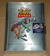 Disney Pixar TOY STORY factory sealed Exclusive Deluxe Video Edition Box VHS