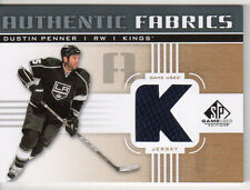 DUSTIN PENNER 2011-12 SP GAME USED AUTHENTIC FABRICS GAME USED JERSEY { K }