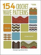 NEW - 154 Crochet Wave Patterns  (Leisure Arts #4312) by Darla Sims