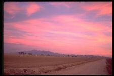 611040 cielos Glow en tierras de labranza al oeste de Phoenix A4 Foto Impresión