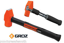 GROZ Indestructible Handle 2.5lb 1.13 kg Cross Pein  Hammer