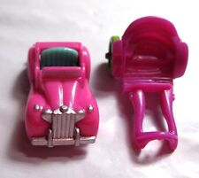 "VINTAGE 1994 Polly Pocket Magical Mansion Car & Horse Cart Carriage for 1"" Dolls"