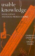 Usable Knowledge: Social Science and Social Problem Solving (Yale Fast-ExLibrary