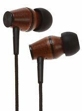 Symphonized XTC Genuine Wood In-ear Noise-isolating Headphones (Black)