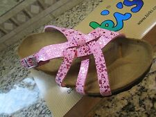 NEW BIRKI'S BIRKENSTOCK PINK MAHE SLIDE CORK SANDALS  WOMENS38-245 7 FREE SHIP!