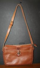 VTG 1970s Top Grain Genuine Leather Shoulder Bag Purse EUC Mod Hippie