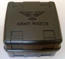 Eichmüller Army Watch XXL Uhrenbox Armbanduhren Etui mit Schaumstoffeinlage Neu
