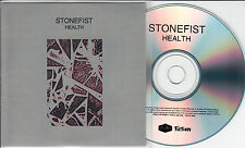 HEALTH Stonefist 2015 UK 1-track promo CD