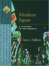 BRAND NEW Modern Japan A History in Documents James Huffman HB 2004 Oxford Pages