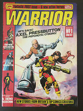 Warrior #1 First Printing 1982 Magazine Comic Book. V for Vendetta, Miracleman