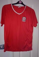 WALES Football Shirt Men's 2016 Umbro Red Fan Soccer Jersey Medium Top M Cymru