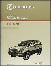 2000 Lexus LX 470 Repair Shop Manual Volume 1 NEW Original LX470 Service Book