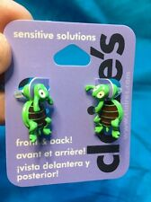 One Cute Pair Of Claire's Turtle Front And Back Earrings New