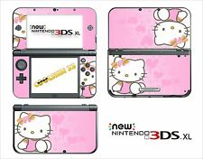 SKIN STICKER AUTOCOLLANT - NINTENDO NEW 3DS XL - 3DSXL  REF 66 KITTY