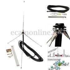 15M Cable Potente 1/4 Onda Gp Antenna Antena Para 0.5-30W FM Vatios Transmisor