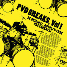 Pat Van Dyke - Pvd Breaks Vol 1 (royalty Free Breaks) [New Vinyl]