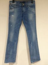 Ladies Jeans Size 28 MISS SIXTY Bnwot 24L Blitz Style Distressed Look Stretch