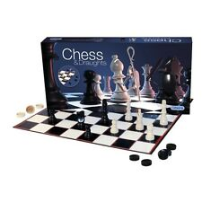 Gibsons Games - Chess & Draughts set  (including Board) - G284