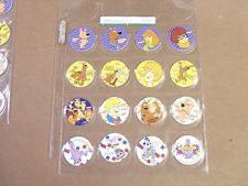 POGS/ MILKCAPS  SCOOBY-DOO BY CHECKERS COMPLETE  SET OF (16)