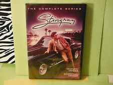 ORIGINAL COVER-NEW:STINGRAY-COMPLETE TV SERIES, 5 DVD SET! IS HARD TO FIND!