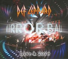 SEALED NEW ~ Def Leppard -- Mirror Ball : Live & More [Box] (2 CD, 1 DVD)