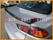 OE Style Carbon Fiber Trunk Lip Spoiler For 08-13 Lancer SE EVO Evolution X MR