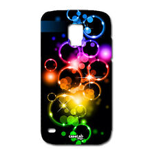 CUSTODIA COVER CASE BOLLE SAPONE COLORATI  PER SAMSUNG GALAXY S5 MINI G800