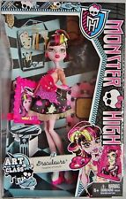 Monster High ART CLASS DRACULAURA Doll Artist Paint Palette Picture Play Set NEW