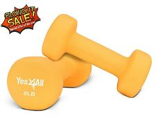 Yes4All Hand Exercise Neoprene Coated Pair Dumbbell Weight 8 lbs - ²DSAXC
