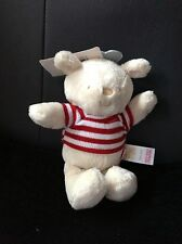 New Adams 'Little Bundle' Teddy With Rattle Soft Comforter Toy