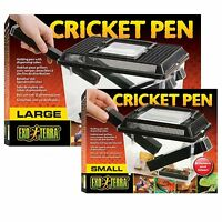 EXO TERRA LARGE CRICKET PEN KEEPER REPTILE LIVE FOOD TANK