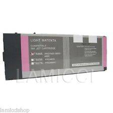 Wide Format Cartridge T5446 Compatible Epson 4000 & 9600 Pigment Light Magenta