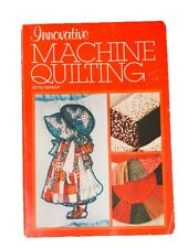 Innovative Machine Quilting by Hettie Risinger Book Sewing Patterns Templates