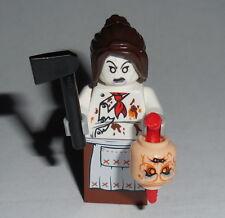 HALLOWEEN Lego Female Demonic-Possessed Chef w/acc's Custom NEW #25