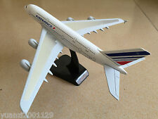 20CM Solid AIR FRANCE AIRBUS A380 Passenger Airplane Plane Metal Diecast Model C