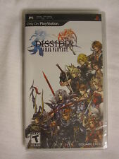 Dissidia Final Fantasy (PlayStation Portable, PSP) Black Label Brand New Sealed~